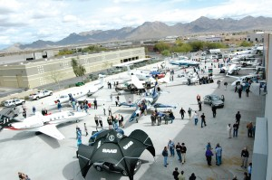 Over 1,400 guests attended the Saab Business Aircraft & Jet Preview at the Scottsdale Air Center.