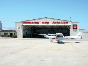 Monterey Bay Aviation is home to dozens of area aircraft as well as its own fleet of two Cessna 172s, a Piper Arrow II and a Citabria.