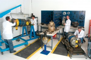 The new turbine engine maintenance facility is located at Montrose Regional Airport.