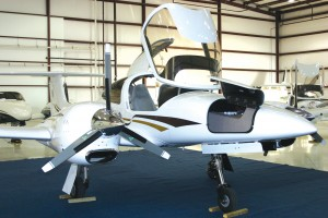 Diamond DA-42 position owners and potential buyers were treated to an unveiling of the newest entry in the light twin market at Premier Aviation on March 10.