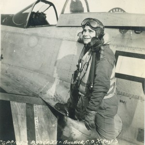 In Dodo, his P-51D Mustang, Clinton DeWitt Burdick flew over 50 combat missions, logged 300 hours and scored five and a half victories.