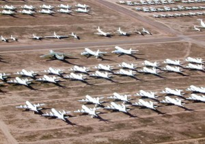"Craig asked if we might circle ""the boneyard,"" that monstrous graveyard at Davis-Monthan Air Force Base where old military airplanes go to die."