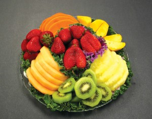 """When you say fruit tray to us, we think of the fruits that we grew up with,"" says Khalid Halim, pointing out Jetfinity's exotic offering of Mexican papaya, mango, kiwi, pineapple, grapes, berries and other seasonal fruits."