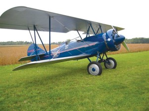 Clay Adams bought this 1929 Travel Air for Nostalgic Wings, a company he formed to give airplane rides to the public.