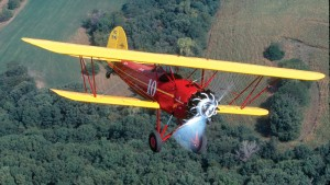 One plane featured on the American Barnstormers Tour will be Bob Newhouse's 1931 Bird CK.