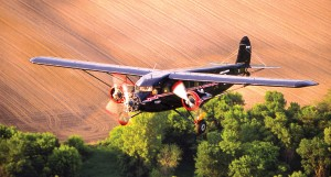 On the tour, Greg Herrick and Jim Obowa will fly a 1931 Stinson Trimotor.