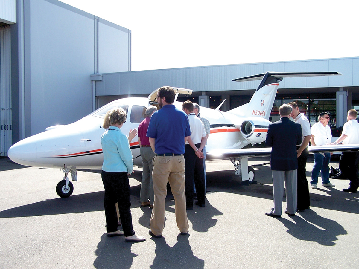 Sunshine and Success at Bay Area's First Saab Business Aircraft & Jet Preview