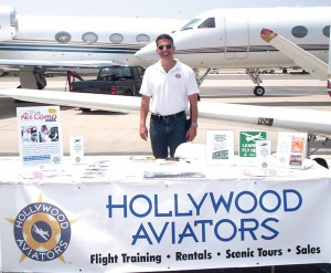 "Farid Azad, general manager of Hollywood Aviators, offered the two-week ""Air Camp 2006,"" for youngsters ages 9-17 to get them excited about an aviation career."