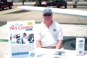 "Dan Katz, president of Hollywood Aviators, said that ""Air Camp"" will allow youth to fly a plane four times during their two-week summer session."