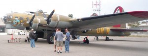 The Collings Foundation's B-17G Flying Fortress Nine-O-Nine is one of the WWII-type bombers on the 2006 Wings of Freedom Tour.