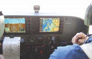 Galvin Flying Service has installed the nation's first Frasca International glass-cockpit flight simulator equipped with the Garmin G1000 avionics package.