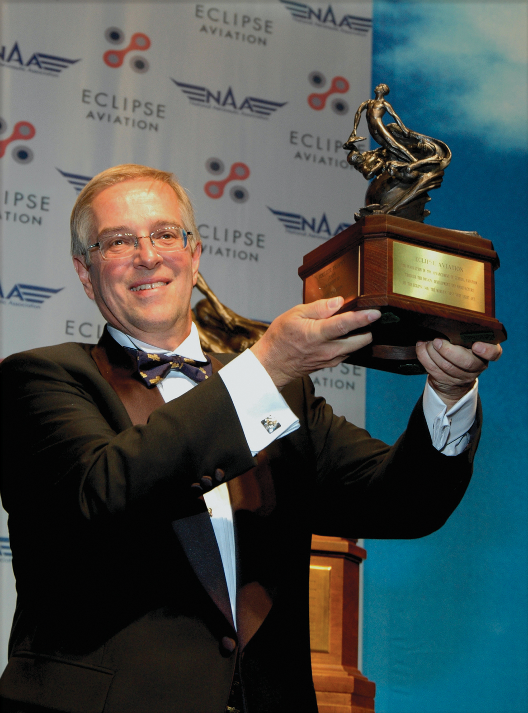 "NAA Says ""Don't Bet Against Eclipse""—Winner of Collier Trophy"