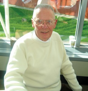 "Russell ""Freddy"" Fredrickson, 82, at the Museum of Flight in Seattle, April 22, 2006. Today, he lives in nearby Renton."
