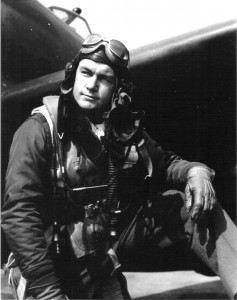 Second Lieutenant Billy G. Edens, at Boxted Air Base in England in May 1944, was one of only a few pilots from the 56th Fighter Group to become an ace as a second lieutenant.