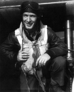 Second Lieutenant Walter R. Groce is pictured in July 1944, shortly after joining the 56th Fighter Group, 63rd Fighter Squadron.