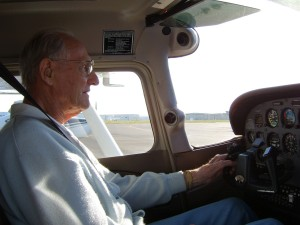 Cliff Garl reflects on his first solo flight in the same plane in which he soloed.