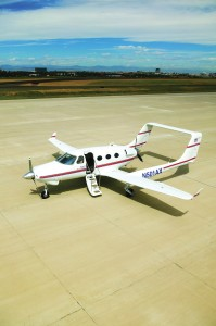 The first customer aircraft of Adam's A500 series was delivered in November 2005 to Mike Leahy, a Colorado Springs chiropractor.