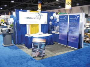 Look for JATO Aviation's booth at the AOPA Expo 2006 in Palm Springs, Calif., in November.