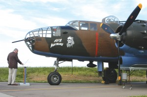 The TB-25J is at present the only WWII-era Air Corps bomber in Tri-State's stable of airworthy warbirds.
