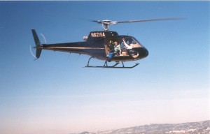 The panoramic windows on South Bay Helicopter's Eurocopter Astar make it particularly conducive to aerial photography.