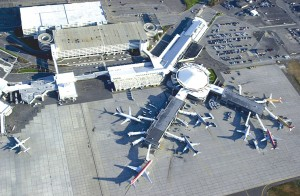 An $82 million expansion of Spokane International Airport began earlier this year with passenger levels that surpassed 3.1 million travelers in 2005. Changes include a $23 million control tower, expanded passenger terminal and main runway extension.