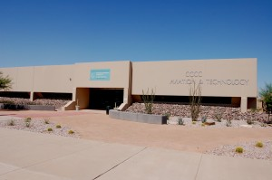 Chandler-Gilbert Community College's Aviation & Technology Center is located at Williams Gateway Airport in Mesa, Ariz.