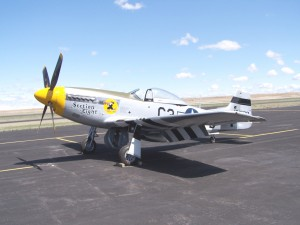 John Lane's Airpower Unlimited crew recently restored this P-51, Section Eight. The Mustang is often flown at Pacific Northwest air shows by Idaho pilot and owner Doug Driscoll.