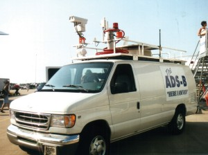 ADS-B is portable, so it can go places stationary radar can't. This equipment was first demonstrated in 1999.