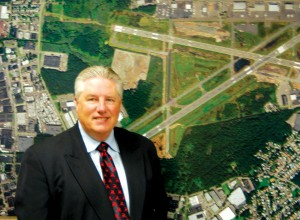 Lanny Rider, the airport manager, has been with the Port Authority since 1977. He has been at TEB since 2001, and prior to that, he was the airport operations manager at LaGuardia and airfield operations manager at JFK.