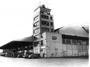 The original control tower was replaced in 1972 by a new facility on the east side of the field. This building then served as the museum until a facility was built in the shadow of the new control tower.