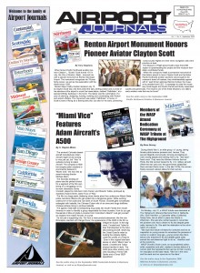 Cover of Airport Journals September 2006 issue