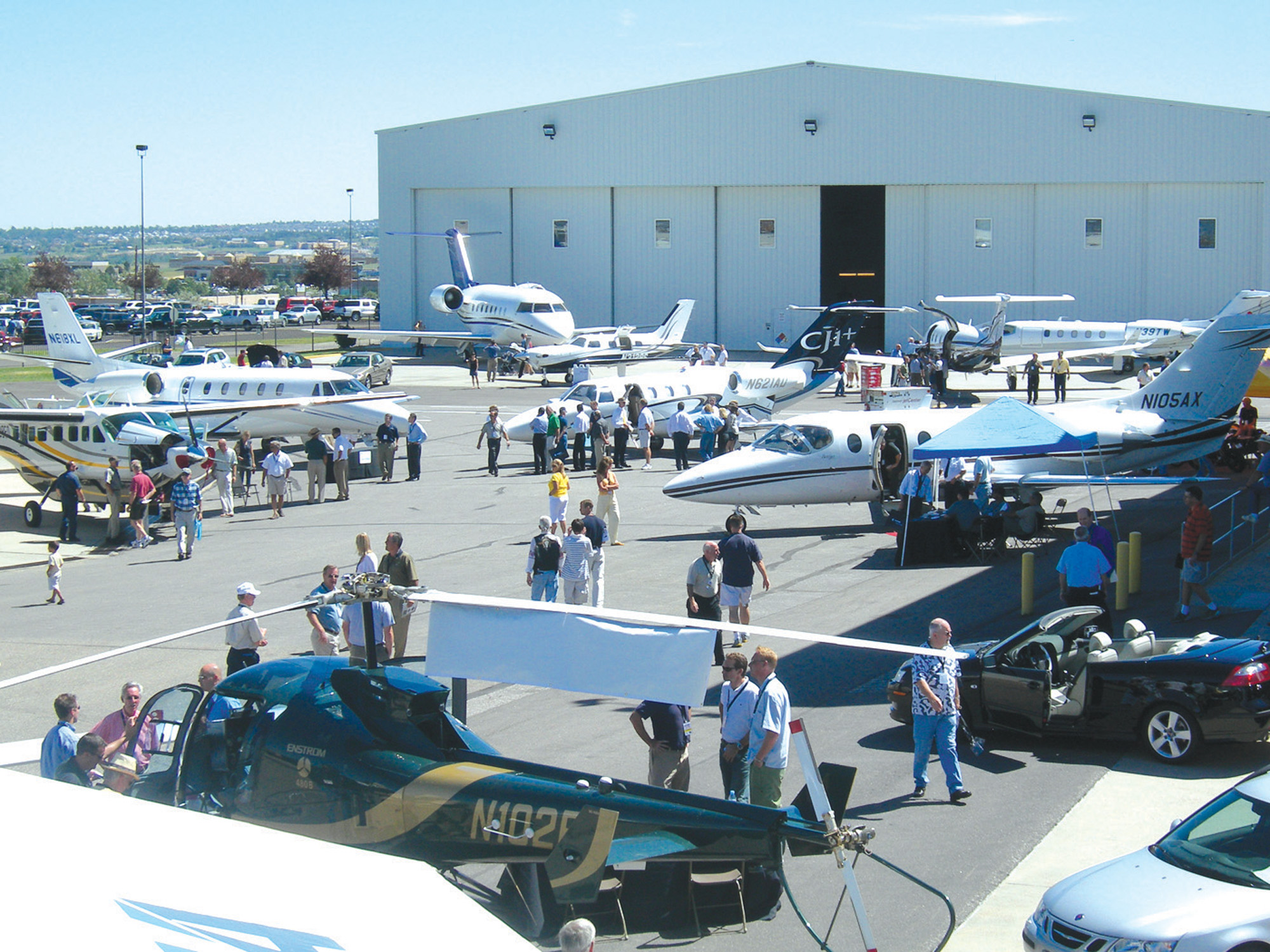 Business Aircraft & Jet Preview August 8, 2006 at Denver jetCenter, Centennial Airport (APA)