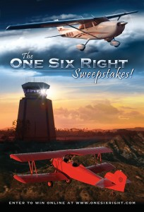 "The grand prize winner and a guest will get an all-expense paid trip to Los Angeles to visit the set of ""One Six Right."""