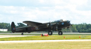 One of only two Avro Lancasters still flying in the world visited AirVenture 2006. One is in The United Kingdom, while this one is based in Canada.