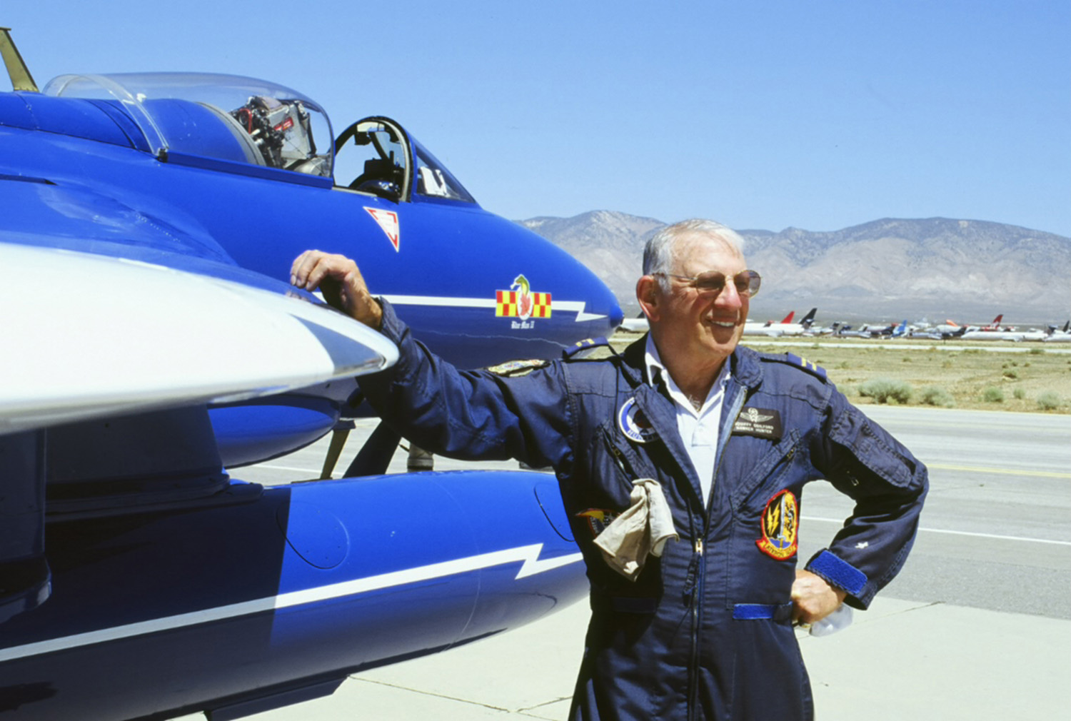 "Warbird Aviator Bob Guilford Died ""Heroically"" in Hawker Jet Crash"