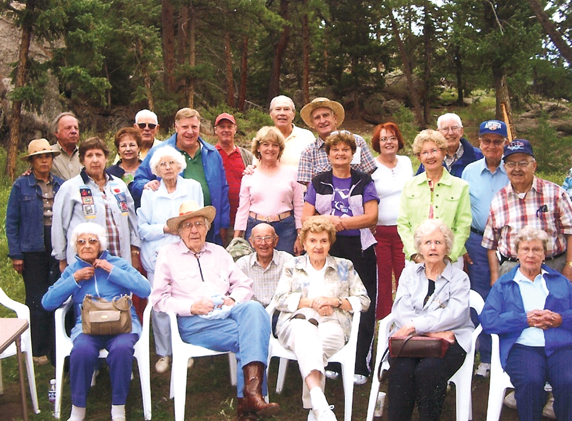 OX5 Aviation Pioneers Enjoy Fellowship in Conifer