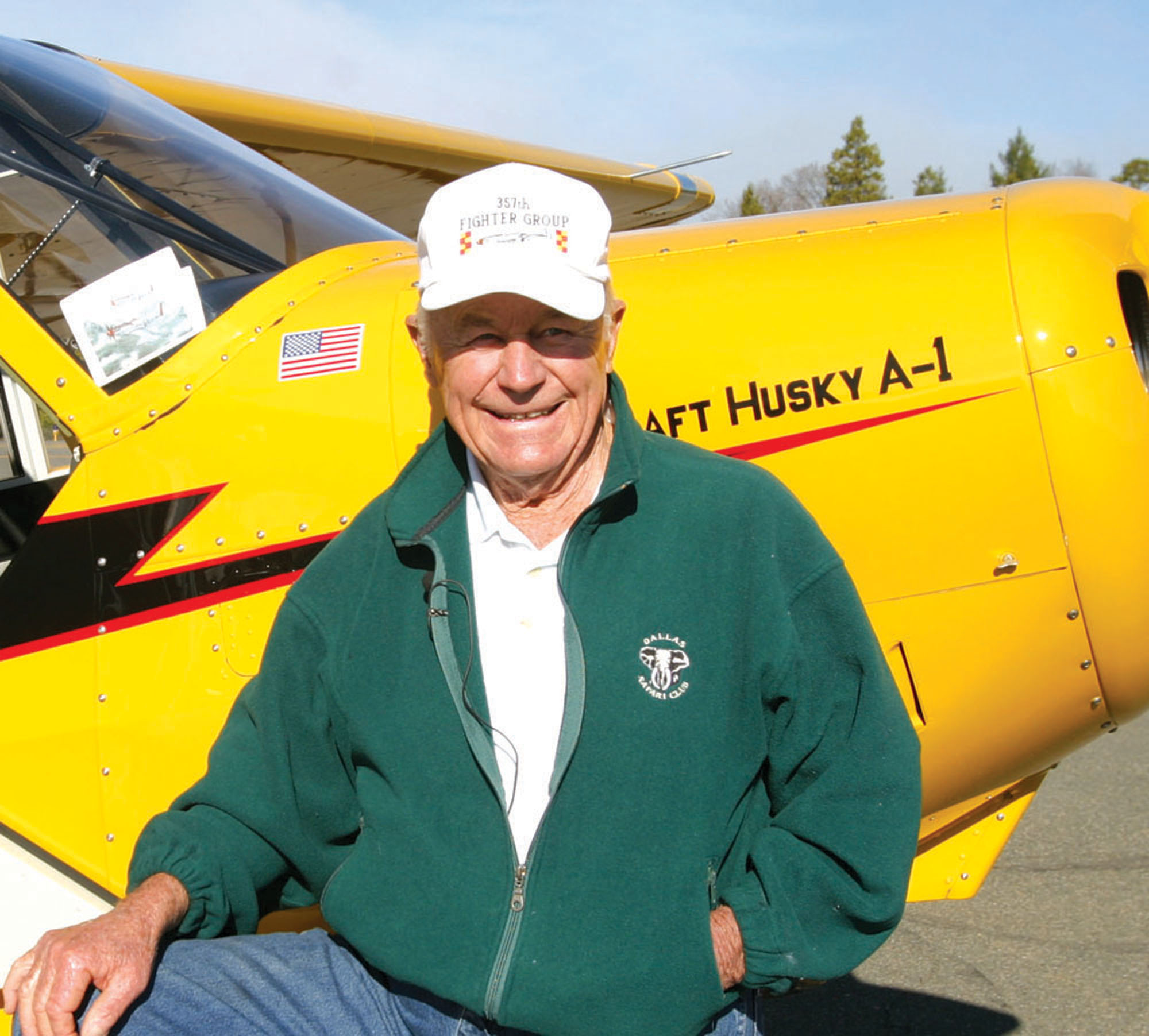 "Chuck Yeager to Receive ""Spreading Wings"" Award at Wings Gala, Nov. 11"