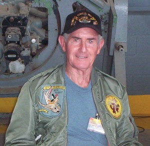Retired pilot Major Tom Richards described fighter tactics he used when flying the F-86 Sabre in Korea.
