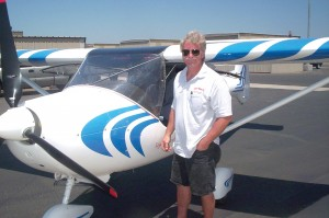 Tom Asinof bought his Allegro 2000 from Sport Planes West last November. He had flown it well over 100 hours when this photo was taken in June.