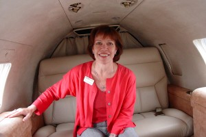 Kate Woolstenhulme, a professional artist as well as a licensed pilot, creates the artistic vision for Best Jets' Silver, Gold and Platinum conversions for the 20-series Learjet.