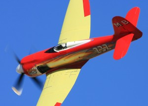 September Fury, Mike Brown's highly modified Sea Fury, was the winner of the Unlimited Gold race.