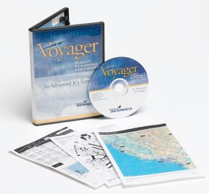 Voyager's sophisticated software also includes in-flight data handling.