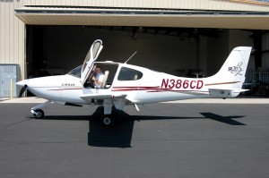 The Air Safety Flight Academy in Glendale uses the Cirrus SR20, with its all-glass cockpit and ballistic airframe parachute system, as its basic pilot training aircraft.