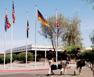 Airline Training Center Arizona, a Lufthansa pilot training facility, is located at Phoenix Goodyear Airport.