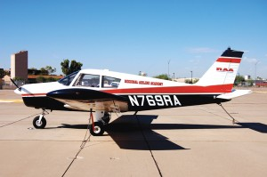 The Piper Cadet is one of the aircraft used in the Regional Airline Academy's pilot training programs.