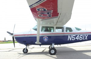 CAP's Seattle Squadron keeps its new, high-tech Cessna 182 busy with search and rescue and homeland security missions. The plane is outfitted with a Garmin 1000 avionics system, satellite-linked air-to-ground photo system and Becker Avionics SAR unit.