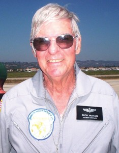 The air show grand marshal was Lt. Col. Dick Rutan (USAF, ret.), who made the first nonstop, unrefueled world flight in 1986 aboard Voyager.