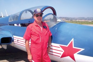 Former Air Force and airline pilot John Slais did high-speed flybys and climbing wingovers in his tandem-seat Polish-designed Iskra jet fighter trainer.