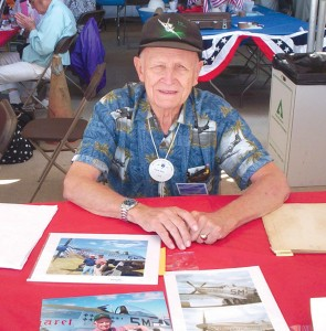 Retired Air Force Colonel Clyde East, a double ace, flew in three wars and earned 43 Air Medals and five Distinguished Flying Crosses.