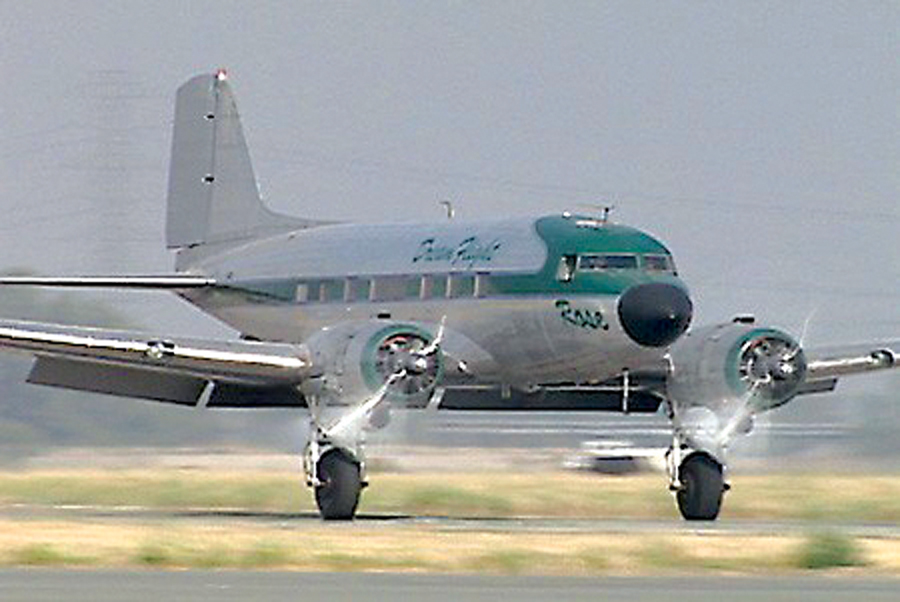 Flying IFR to Corona Airport for a DC-3 Flight